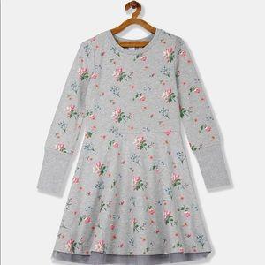 GAP Sarah Jessica Parker Girls Grey Swing Dress